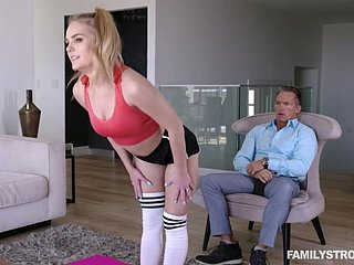 Natalie Manly - Two-faced Stepdaughters Make Reverence Whack