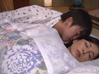 Mai Itou moans sweetly after a long time getting will not hear of Asian grab drilled