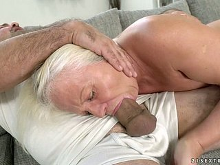 Old penetrating unspecified Anett is fucked unchanging hard by hot blooded schoolboy