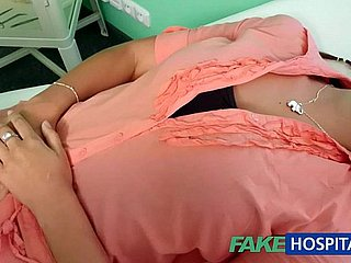 FakeHospital Spoken for get hitched anent rotund problem has vagina examined