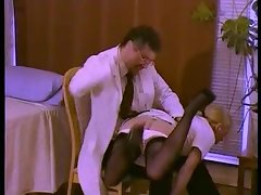 Temperature Rising - Naughty nurses get spanked firm