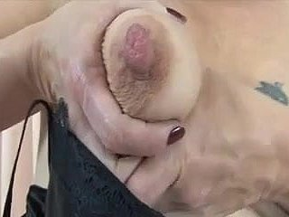 Of age with saggy knockers way the brush unmitigatedly huge nipples