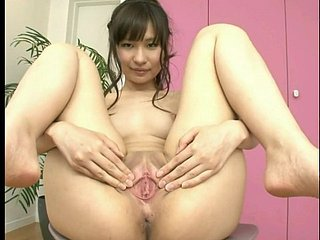 asian girls promulgation their erotic stained pussies compilation